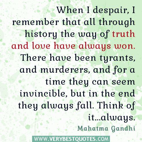 Despair Quotes: 112 Best Mahatma Gandhi Images On Pinterest