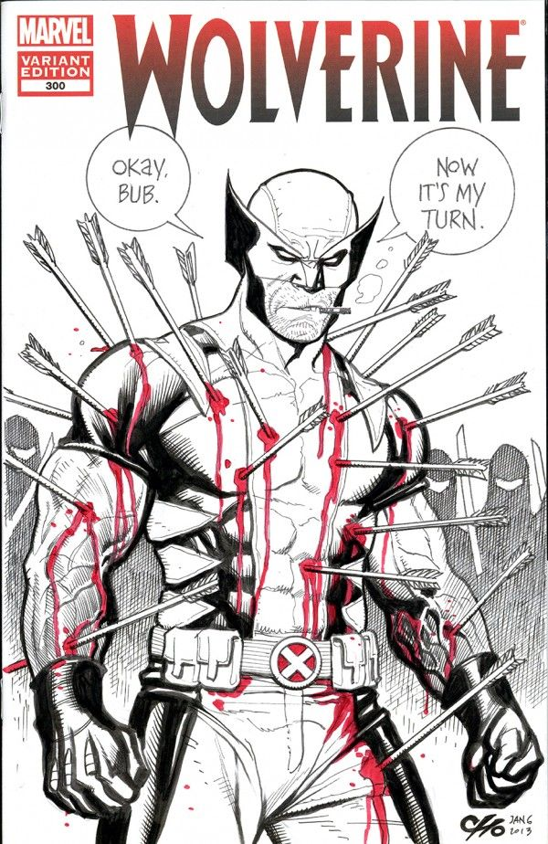 Original Frank Cho Wolverine Art Up For Raffle