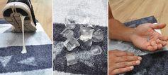 Wie entferne ich Kaugummi aus dem Teppich? - LifeStyle-Mat.de