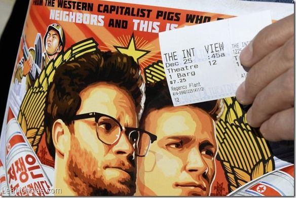 "Como ""divertido"" califican el estreno de ""The interview"" en salas de cine independiente - http://www.leanoticias.com/2014/12/26/como-divertido-califican-el-estreno-de-the-interview-en-salas-de-cine-independiente/"