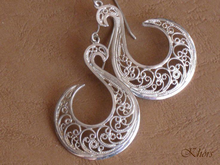 Aro abierto de plata