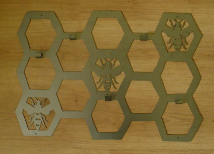 Plaster miodu z trzema pszczółkami :) możesz go mieć w jakim kolorze tylko zechcesz:)