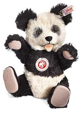 "Gorgeous ""Retro"" Panda from Steiff. Made to celebrate 75 years of Steiff Pandas"