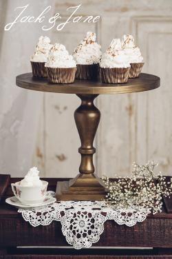 Antikolt arany fa tortatálak - Lady2 | Jack&Jane tortaállványok
