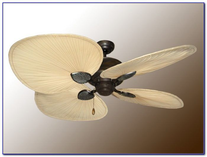 Palm Leaf Ceiling Fans With Lights Ceiling Home Decorating Palm