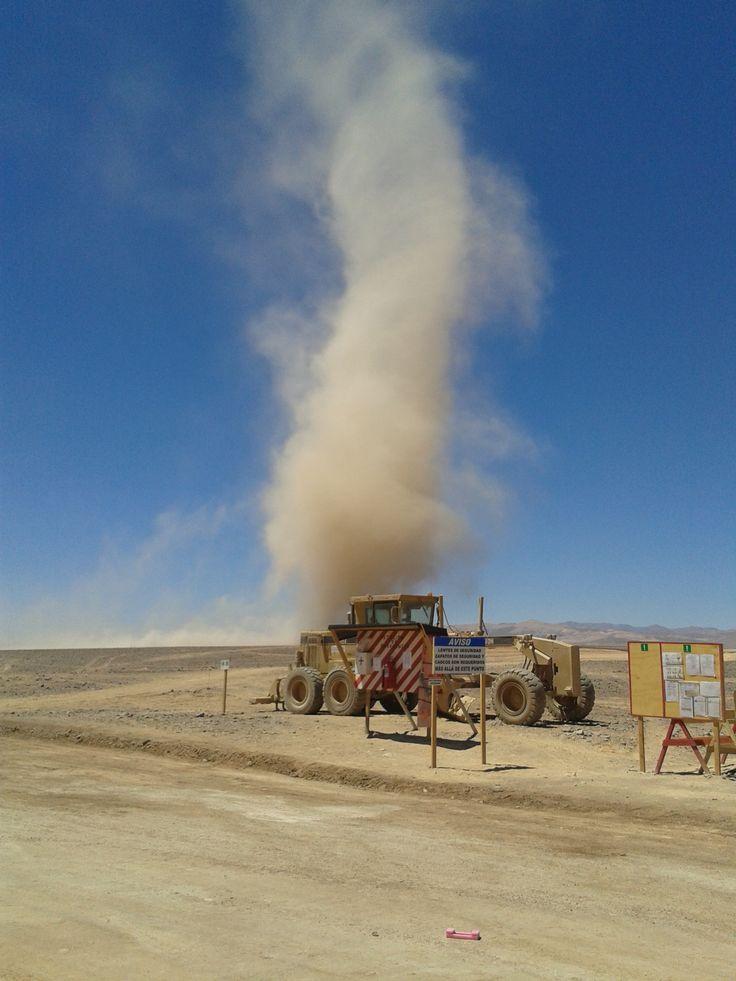 Remolino en el Desierto de Atacama - Diego de Almagro