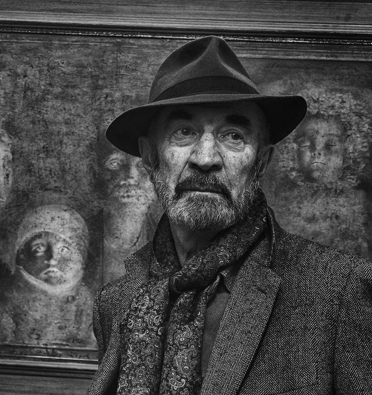 Portrait du peintre Boris Zaborov, Igor B. Glik