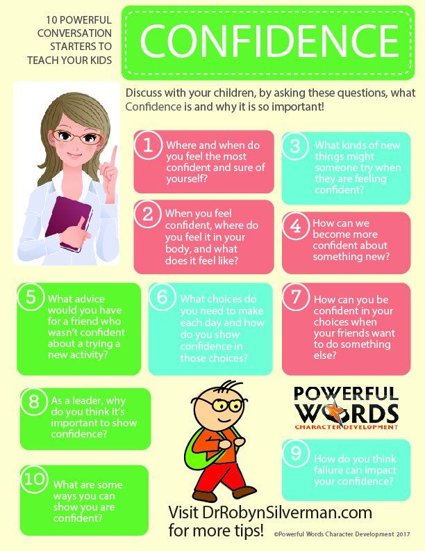 10 POWerful Conversation Starters.