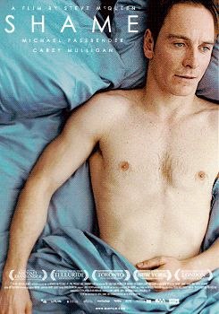 •                  gifs shame Michael Fassbender Steve McQueen SO HERE YOU GO carrey mulligan animated movie posters sick of looking at these             suave-graphics  •