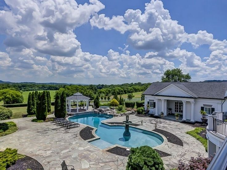 luxury listing of the day 26m 10 acre estate in franklin tn pool ideas swimming