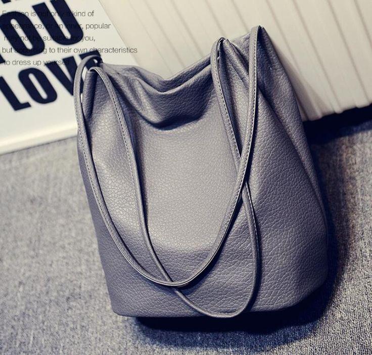 2 015 дизайнеров Женщины кожаные сумки Черный ведро плечо Сумки женские Сумки Креста тела с большим объемом Дамы Корзина Болса в мешки плеча из багажа и сумки на Aliexpress.com   Alibaba Group