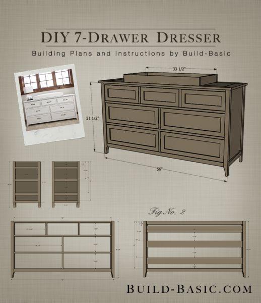 Best 25 Diy dresser plans ideas on Pinterest