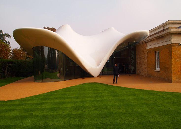 Serpentine Sackler Gallery by Zaha Hadid