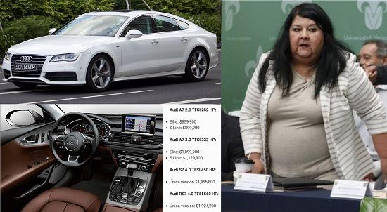 Secretaria de finanzas de Veracruz estrena Audi A7 2017 durante austeridad financiera - http://www.esnoticiaveracruz.com/secretaria-de-finanzas-de-veracruz-estrena-audi-a7-2017-durante-austeridad-financiera/
