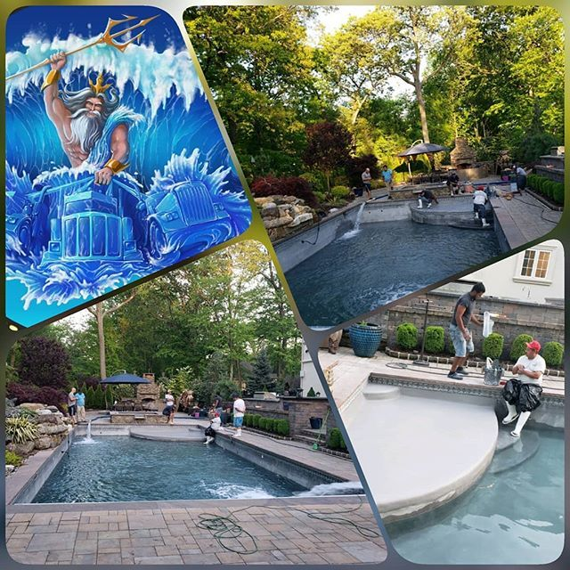 Team Work Makes The Dream Work Pool Companies Are Always A Pleasure To Work With This Pool Was Replastered And It Pool Companies Pool Water Delivery Service