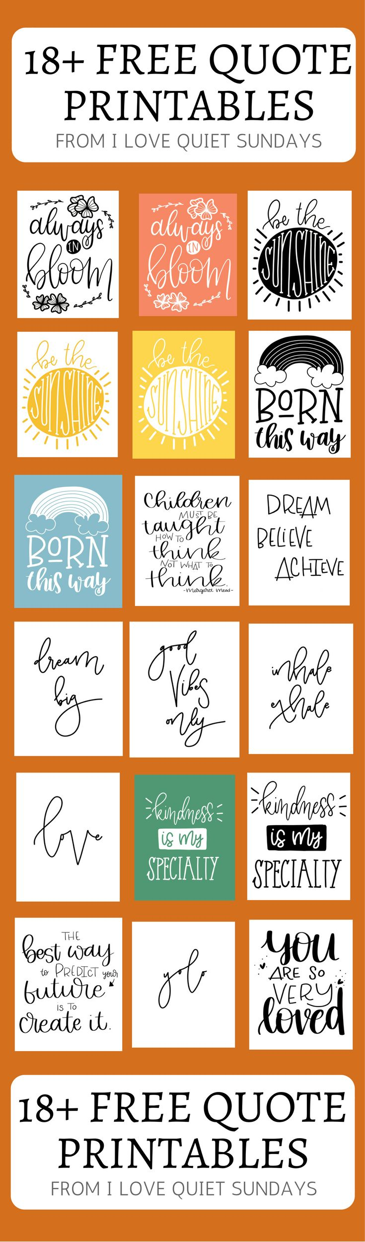 Best 25+ Free printable quotes ideas on Pinterest | Free ...