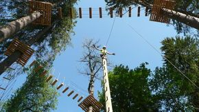 Tree top adventures! Thank you Gstaad Saanenland Tourismus for the pictures #gstaad #tourism #travel #explore #adventure #suisse #switzerland #alpine #summerholidays