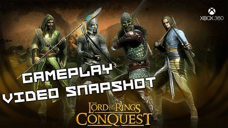 The Lord of the Rings Conquest XBOX 360 Gameplay Video Snapshot 1080p 60fps