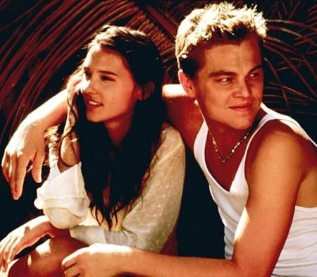 "Leonardo DiCaprio & Virginie LeDoyen in ""The Beach"""