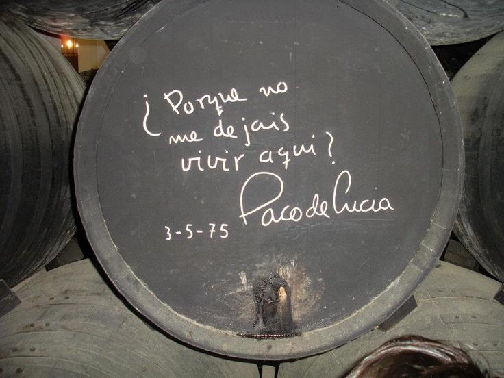 Paco de Lucía - faltas de ortografía   Paco de Lucía - typos.