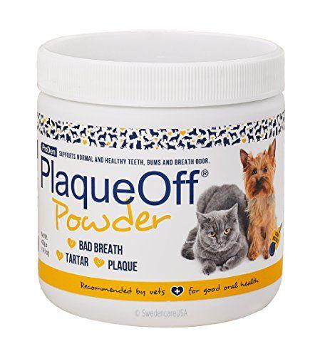 Proden PlaqueOff Dental Care for Dogs and Cats, 420gm Proden http://www.amazon.com/dp/B001M5ETBS/ref=cm_sw_r_pi_dp_pz3mxb0T1QTH3