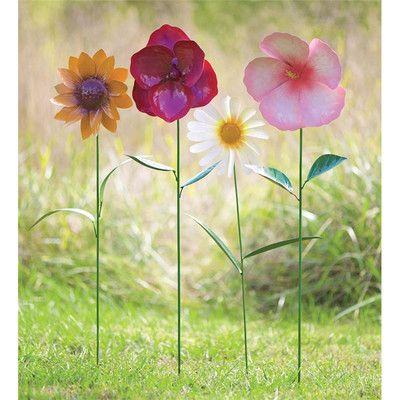 Daisy Garden Wind Spinner