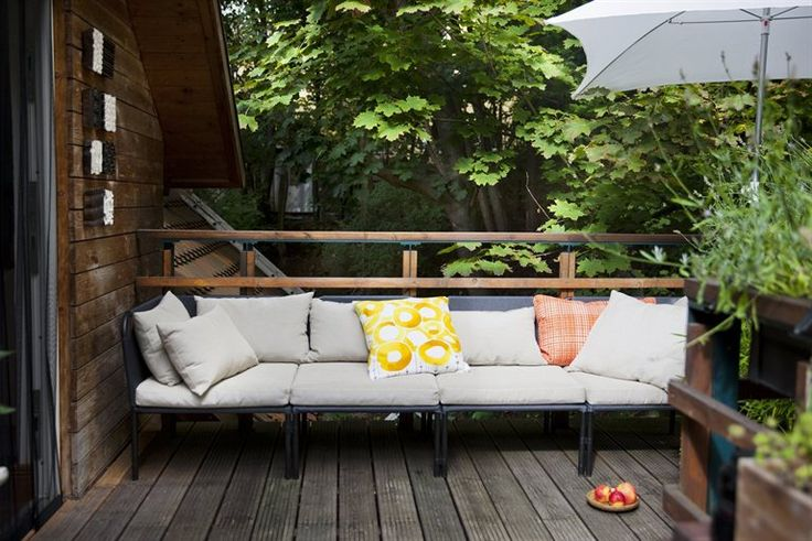'My perfect place to live and work' | IKEA Magazine Outdoor couch