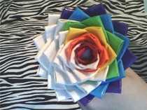 This site has tons of colored duct tape ideas for all areas:  school, holidays, flowers, clothes, etc.  Neat ideas!
