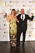 Gomorrah - Best International Drama TV Series - Mrs Sonia Rovai (Producer - Sky Italia) & Marco d'Amore (Actor) - Italia