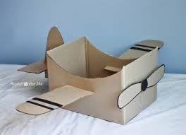 Resultado de imagen para como hacer un avion de carton
