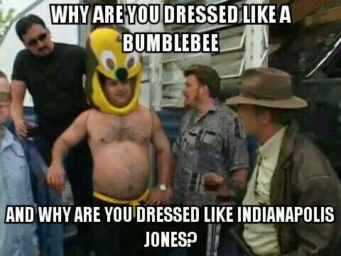 Trailer Park Boys ... I actually love it. Why are you dressed like Indianapolis…
