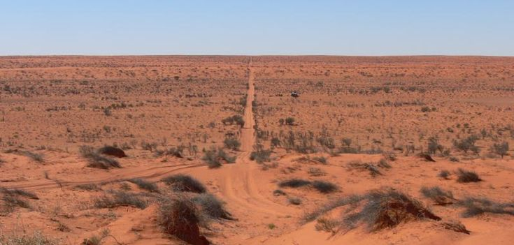 Walk across the Simpson Desert in Australia