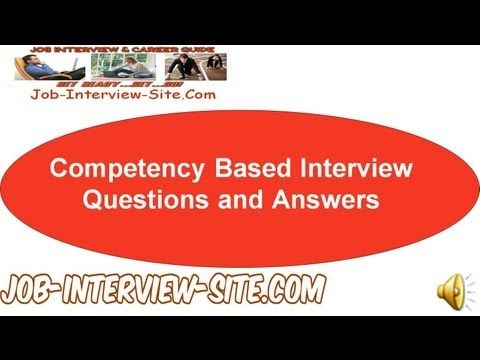 how to answer behavioural based interview questions 2017