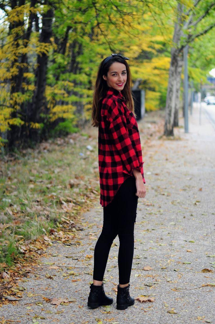 Las 25 Mejores Ideas Sobre Camisa De Cuadros En Pinterest | Jeggings Outfit Teen Dresses Casual ...