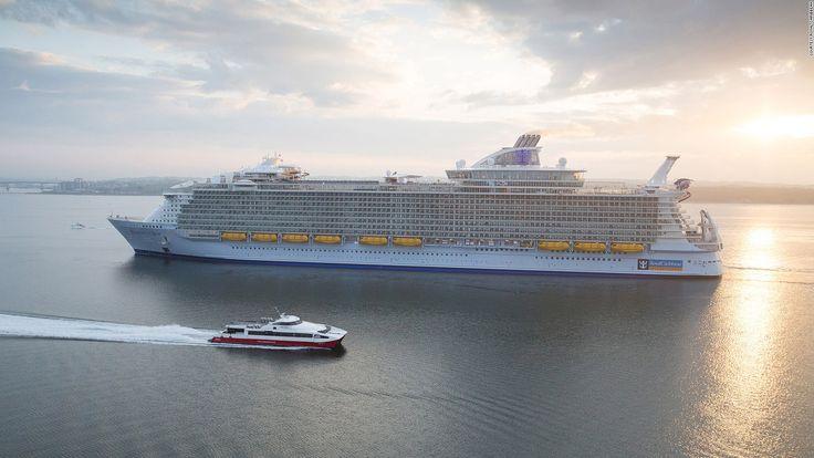 Harmony of the Sea, a giant cruise in USA