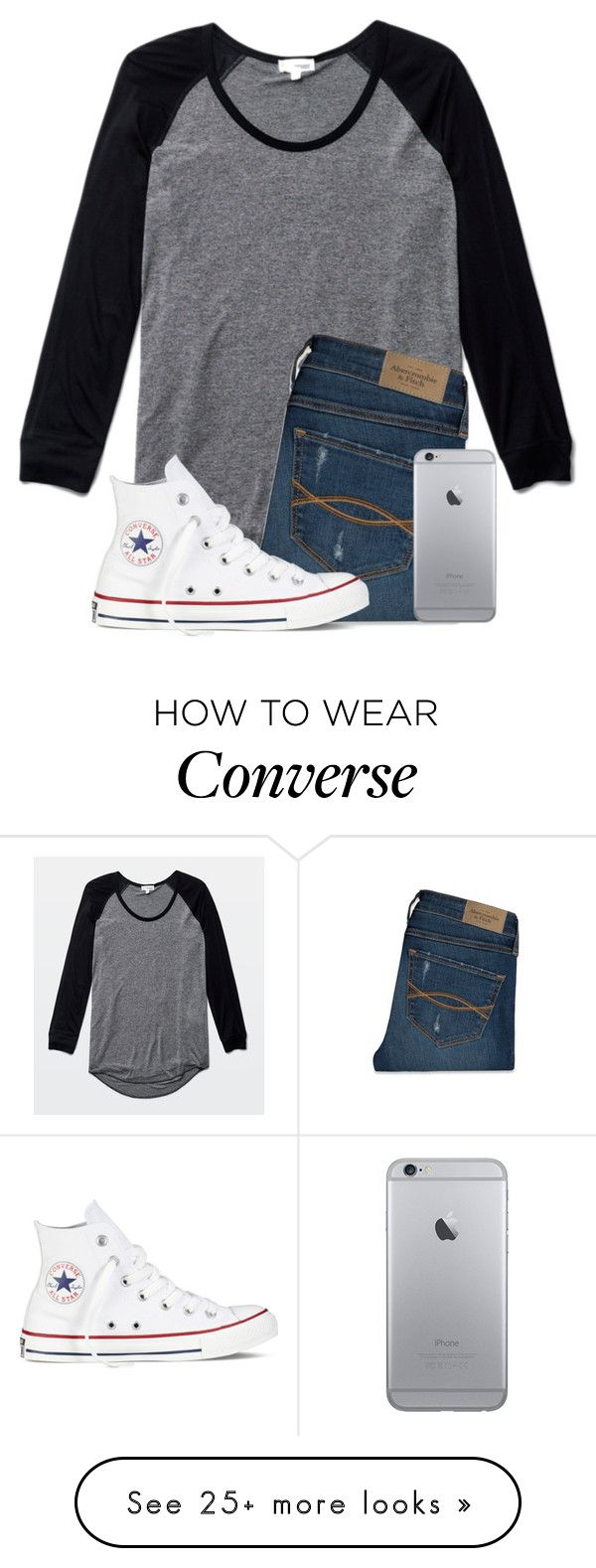 """Bus Forgot Me AGAIN"" by twaayy on Polyvore featuring Wilfred, Abercrombie & Fitch and Converse"