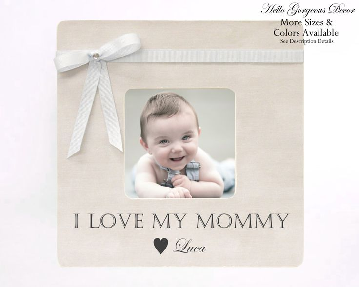 52 best gifts for moms images on pinterest mother pictures gift to mom mother personalized baby picture frame baby shower gift ideas boy nursery decor gift negle Image collections