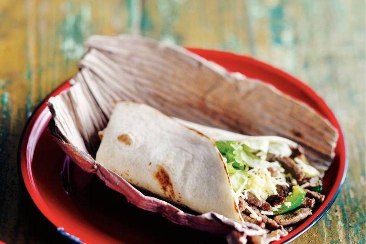 Kijk wat een lekker recept ik heb gevonden op Allerhande! Beef burrito