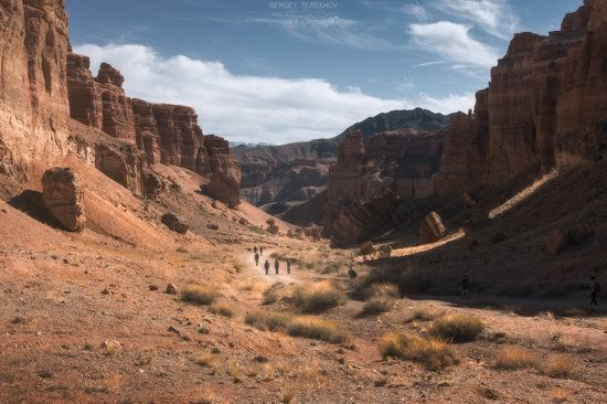 Valley of Castles in Charyn Canyon, Kazakhstan