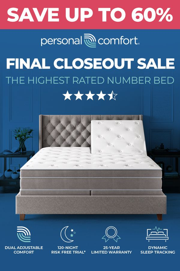Final Closeout Sale The Lowest Prices Of The Year Save Up To 60 Over Sleep Number Sale Ends 7 22 Sleep Number Bed Comfort Mattress Beds For Sale
