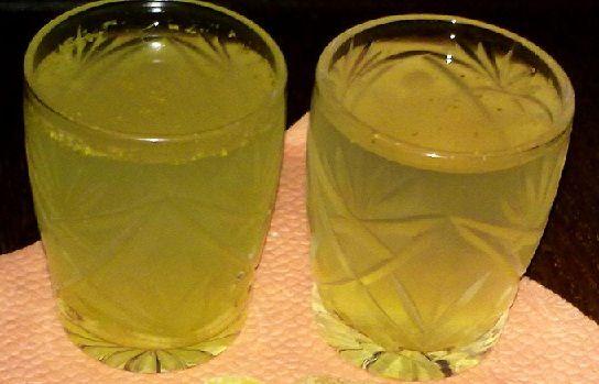 фото готовой имбирной водки