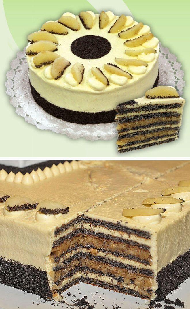 Az ország tortája 2012, Szabolcsi almás máktorta - The Cake of Hungary 2012, Szabolcsi apple and poppyseed cake by Zsolt Pintér.