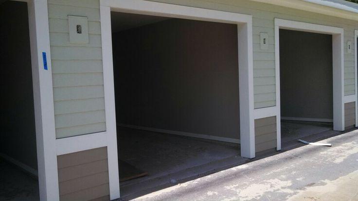 New garages ready for beautiful Overhead Garage Doors
