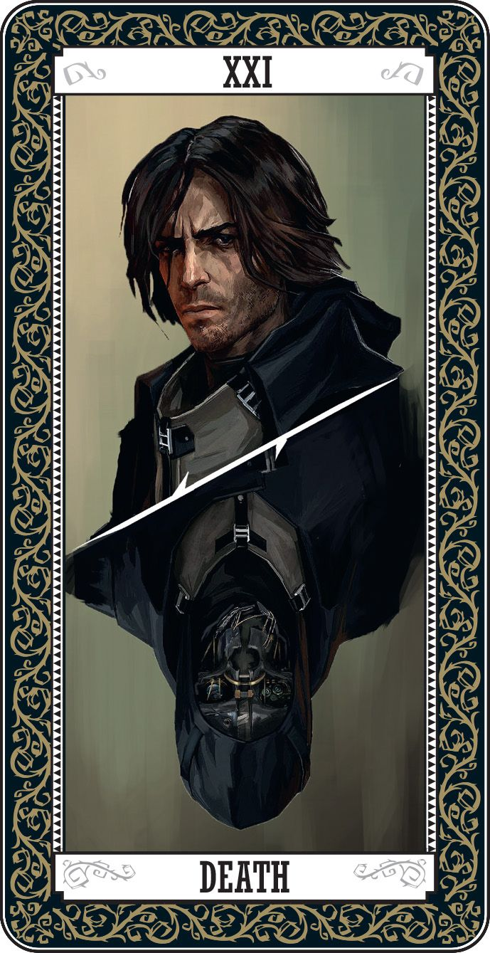Dishonored Tarot Card