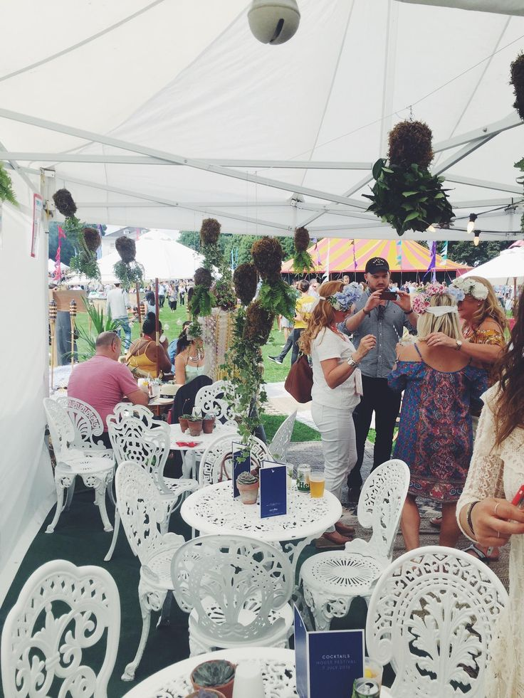 Garden party inspiration - House Festival, Marble Hill House
