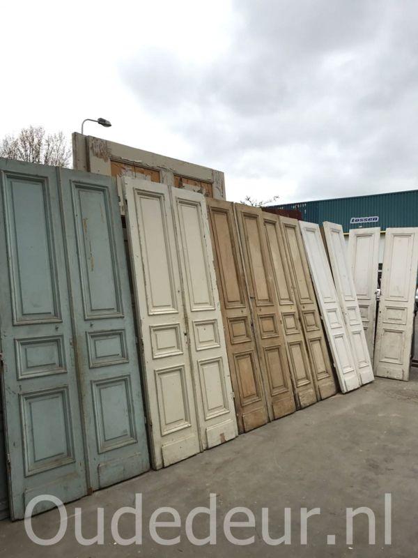 nr. set554 meerdere sets antieke drievaks deuren