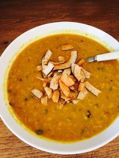 soupe lentille papates douces et tomates séchées