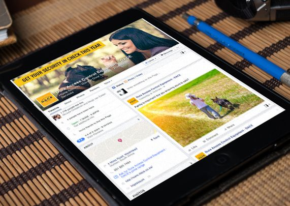 Social Media Portfolio - Dura Access Control Equipment (DACE)