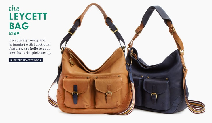 The Leycett Bag - Deceptively roomy and brimming with function features, say hello to your new favourite pick-me-up