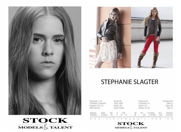 Stephanie Slagter - Modelo Stock Models -